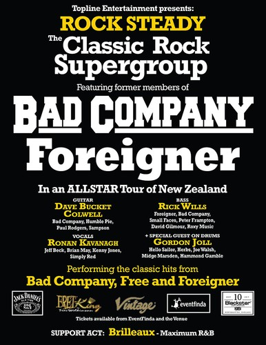 Image result for bad company concert poster