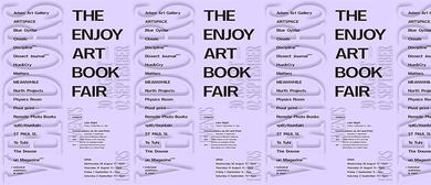 The Enjoy Art Book Fair
