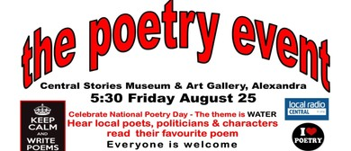 The Poetry Event - Celebrate National Poetry Day