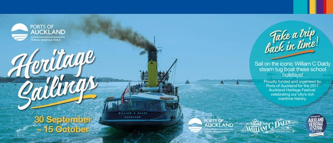 Ports of Auckland Heritage Tugboat Sailings