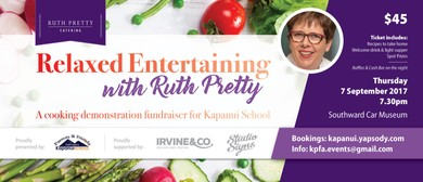 Easy Entertaining With Ruth Pretty - Cooking Demonstration