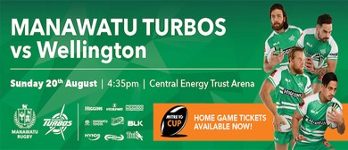 Manawatu Turbos vs Wellington Lions