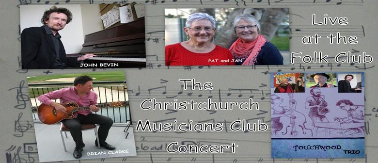 Christchurch Musicians Club Concert