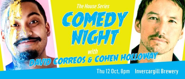 Comedy Night with David Correos & Cohen Holloway