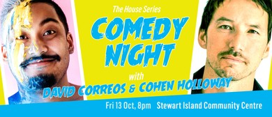 Comedy Night with David Correos & Cohen Holloway: CANCELLED