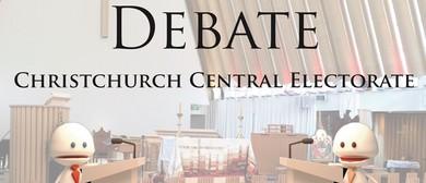 Christchurch Central Electorate Debate