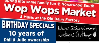 Birthday Bash & Wop Wops Market Day