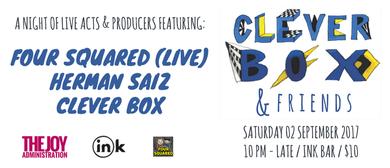 Clever Box & Friends: Four Squared & Herman Saiz