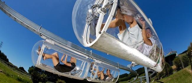Shweeb - Pedal Powered Monorail