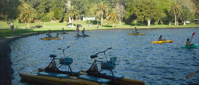 Hamilton Lake Waterbikes