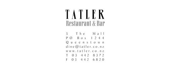 Tatler Restaurant and Bar