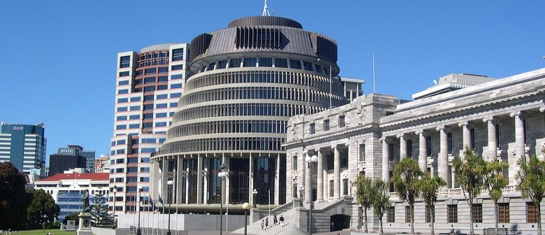 The Beehive & Parliament Buildings