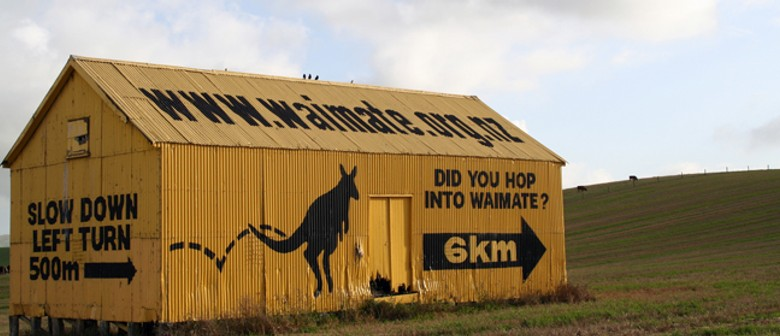 The Wallabies of Waimate - Roadside Stories