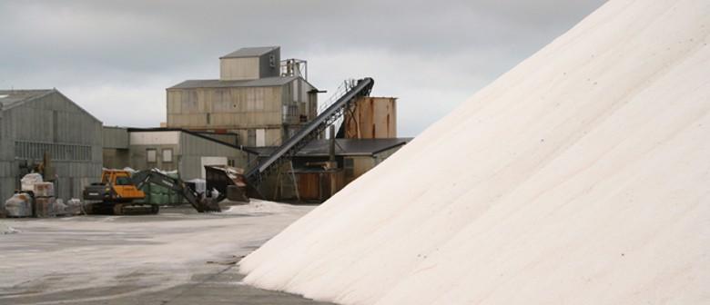 Salt from Lake Grassmere - Roadside Stories