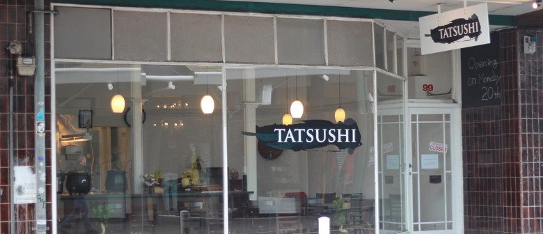 Tatsushi Japanese Restaurant Wellington Menu